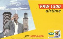PREPAID PHONE CARD RWANDA (PY227 - Rwanda