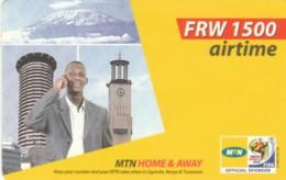 PREPAID PHONE CARD RWANDA (PY228 - Rwanda
