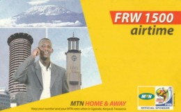PREPAID PHONE CARD RWANDA (PY246 - Rwanda