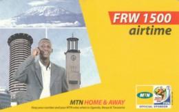 PREPAID PHONE CARD RWANDA (PY318 - Rwanda