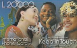 PREPAID PHONE CARD ITALIA (PY365 - Italy