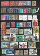 English Stamps 50 Pieces, EUR 20,40 1953- (e 413) - Great Britain