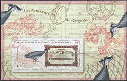 TAAF 2013. Yvert #F685 MNH/Luxe. Kerguelen Archipelago. Whales. (Ts27) - Ballenas
