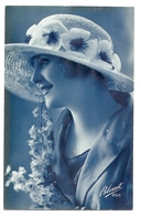 FF 162 OLD POSTCARD  , FEMALE FANTASY , - Mujeres