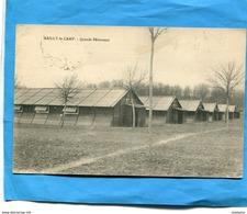 Marcophilie- Carte Postale -Mailly Le Camp-cachet Poste Militaires Belges-dec 1917-en FM>Françe - Marcophilie (Lettres)