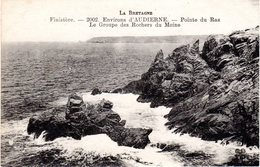 POINTE DU RAZ - Le Groupe Des Rochers Du Moine - La Pointe Du Raz