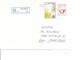 Slovénie ( Lettre Recommandée De 1996 De Dobova Vers Maribor à Voir) - Slovenia