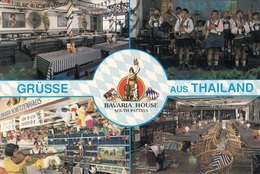 BAVARIA HOUSE In SOUTH PATTAYA THAILAND, Original Karte Aus Thailand, Gute Erhaltung - Thaïland