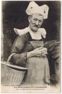 CPA PS V La Plus Belle Fille De Pont-Aven - N° 3067 Collection WARON - Ecrite - Travestis Ou Hermaphrodite ? - Pont Aven