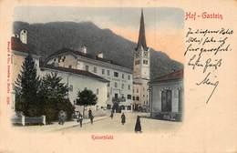 HOF GASTEIN AUSTRIA~KAISERPLATZ~STENGEL 1902 PHOTO POSTCARD 43285 - Bad Hofgastein