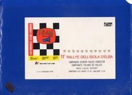 ##(DAN201)-Italia 1978-Cartolina Ufficiale 11° Rally Dell'isola D'Elba Con Annullo Speciale Della Manifestazione - Rally