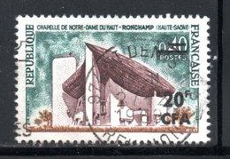YT 374 OBLITERE - RONCHAMP - - Réunion (1852-1975)