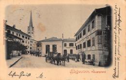 HOFGASTEIN AUSTRIA~HAUPTPLATZ ~WURTHLE & SOHN 1902 PHOTO POSTCARD 43287 - Bad Hofgastein