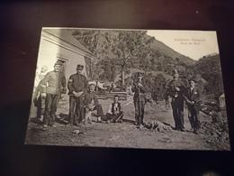 Rare Cpa Carabiniers Espagnols Pont Du Roy - France