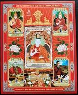 Mongolia 2019  SS MNH The Saints And Reincarnations Of The Great Mongols ONON - Mongolia