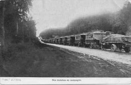 Guerre 1914 NOS AUTOBUS EN CAMPAGNE - Militaria  Guerre 1914-1918 - Guerre 1914-18
