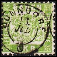 1868. BADEN. Wappen (Hintergrund Weiss.) 1 KR 10x10  () - JF319718 - Bade