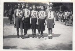 PIANI DI CRETO - GENOVA-FOTOGRAFIA GARA PODISTICA --1942 - DIMENSIONI 6X9 CM . CIRCA- - Anonieme Personen