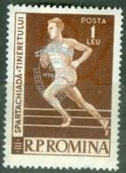 Roumanie    1636     * *  TB   Sport - 1948-.... Repubbliche