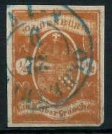 OLDENBURG Nr 11a Gestempelt Gepr. X89C43E - Oldenbourg
