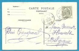 "81 Op Kaart ""Paysage Des Bords Du Geer"" Met Sterstempel (Relais) * CANNE * - 1893-1907 Wappen"