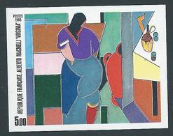FRANCE - 1986 - NON DENTELE - YT N°2414a - 5 F. Virginia D'Alberto Magnelli - Série Artistique - NEUF** - TTB Etat - France