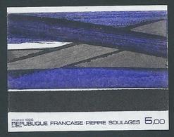 FRANCE - 1986 - NON DENTELE - YT N°2448a - 5 F. Oeuvre De Pierre Soulages - Série Artistique - NEUF** - TTB Etat - France