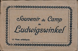 Ancien Carnet De 10 Vues Souvenir Du Camp De Ludwigswinkel - Allemagne