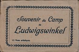 Ancien Carnet De 10 Vues Souvenir Du Camp De Ludwigswinkel - Non Classificati