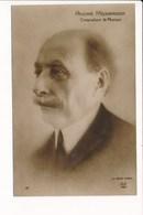 Carte De Compositeur De Musique  ANDRE MESSAGER ( Recto Verso ) - Cantantes Y Músicos