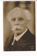 Carte De Compositeur De Musique  GABRIEL FAURE ( Recto Verso ) - Cantantes Y Músicos
