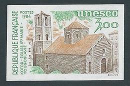FRANCE - 1984 - NON DENTELE - Timbre De Service YT N°81 - 3 F. - UNESCO Eglise Sainte Marie Kotor - NEUF** - TTB Etat - France