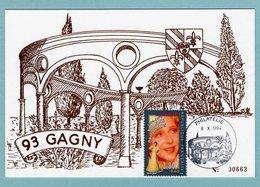CP 93 Gagny - Association Gabinienne Des Agents Postiers - 08/10/1994 - YT 2897 (Yvonne Printemps) - 93 Gagny - Post