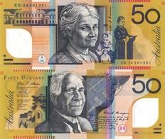 AUSTRALIA, 50 DOLLARS, 2014, P65i, UNC, POLYMER - Emissioni Della Banca Governativa 1910