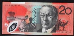 AUSTRALIA 20 DOLLARS POLYMER BANKNOTE UNC - 2005-... (Polymer)