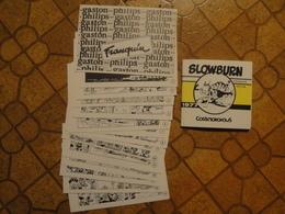 Gaston Lagaffe Lot Des 15 CP Philips + Slowburn Franquin - Gaston