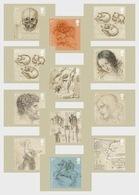 Great Britain 2019 - Leonardo Da Vinci Postcard Set Mnh - 1952-.... (Elizabeth II)