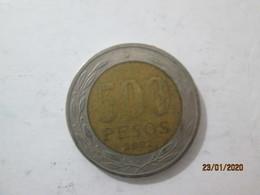 CHILE 500 Pesos 2002   # 1 - Chile