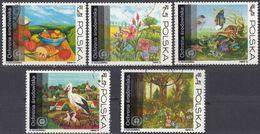POLSKA - POLONIA - 1973 - Lotto Comprendente 5 Valori Usati: Yvert 2107 E 2109/2112. - 1944-.... Repubblica