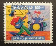 Suisse: Yvert N° 1781 (Jeunes Musiciens, Pro Juventute 2003) Oblitéré - Pro Juventute