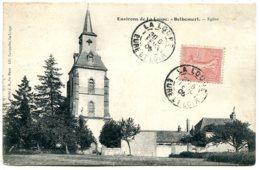 28240 Environs De LA LOUPE - BELHOMERT-GUÉHOUVILLE - Église - Convoyeur Lignes T II Le Mans à Paris - La Loupe