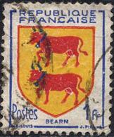 France Poste Obl Yv: 901 Mi:919 Armoiries Du Béarn (cachet Rond) - Francia