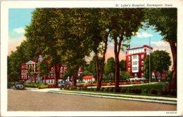 Iowa Davenport St Luke's Hospital Curteich - Davenport