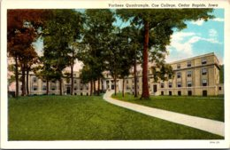 Iowa Cedar Rapids Vorhees Quadrangle Coe College Curteich - Cedar Rapids