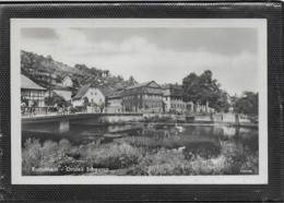 AK 0413  Rudolstadt - Ortsteil Schwarza / Ostalgie , DDR Um 1957 - Rudolstadt