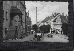 AK 0413  Zeitz - Partie Am Rathaus / Ostalgie , DDR Um 1959 - Zeitz