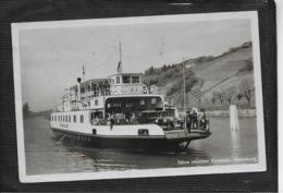 AK 0413  Fähre Zwischen Konstanz Und Meersburg / Verlag Walter Um 1938 - Fähren