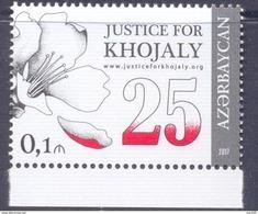 2017.Azerbaijan, 25y Of Khojaly Tragedy, 1v, Mint/** - Azerbaïdjan