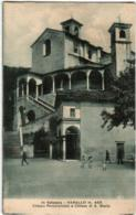 61tht 24 CPA - IN VALSESIA - VARALLO - CHIESA PARROCCHIALE E CHIESA DI S. MARTA - Vercelli