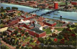 Iowa Cedar Rapids Penick & Ford Plant Curteich - Cedar Rapids